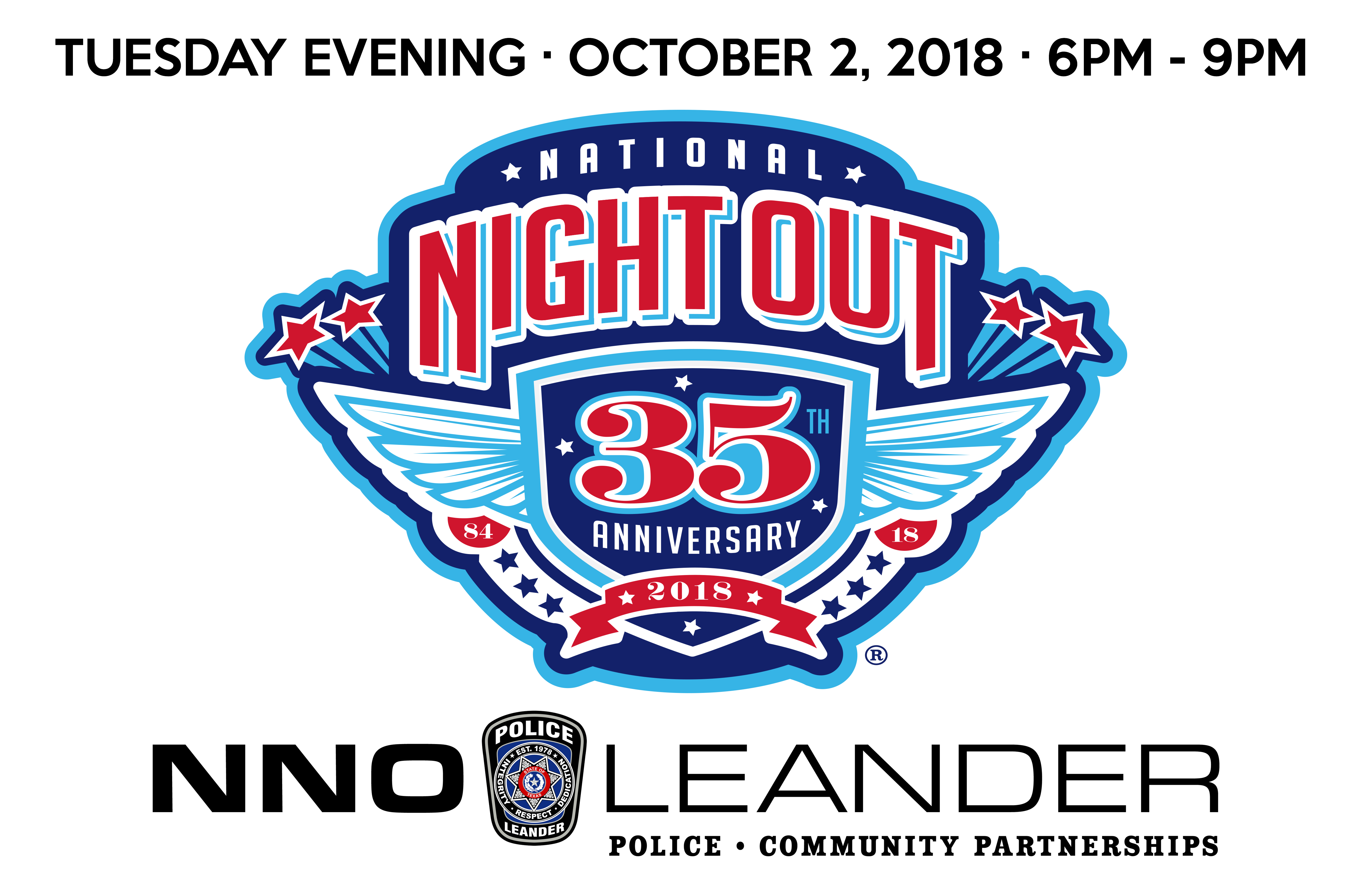 National Night Out City Of Leander Texas