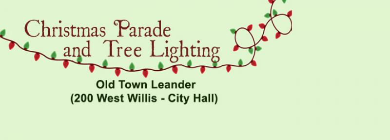 Leander Christmas Parade and Tree Lighting Event