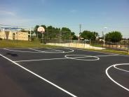 Robin Bledsoe Outdoor Basketball Court