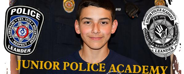 Junior Police Academy | City of Leander Texas